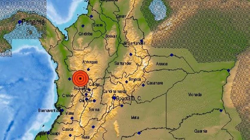 Temblor en Antioquia epicentro Betulia 1 de abril 2020
