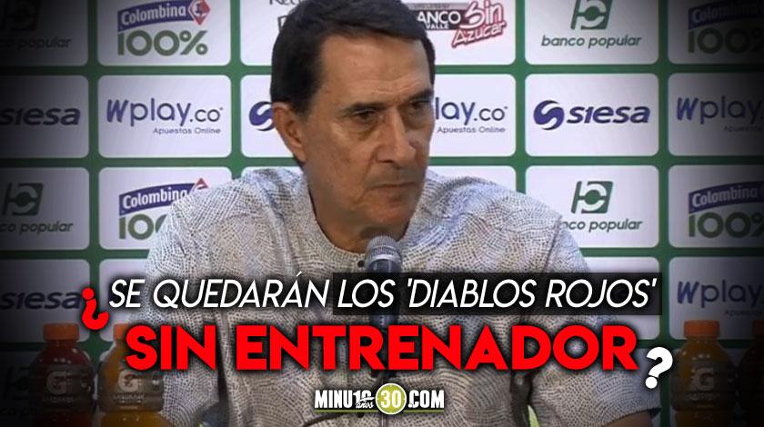 America le suspendio el contrato al director tecnico Alexandre Guimaraes