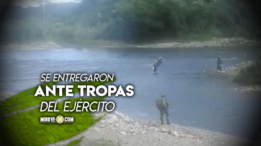 Cinco guerrilleros del ELN se desmovilizan desmovilizados Cauca