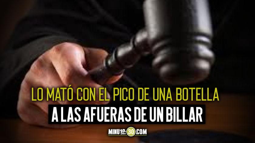Condenado a 18 anos de prision por matar a un hombre que intentaba separar un rina en el Centro de Medellin