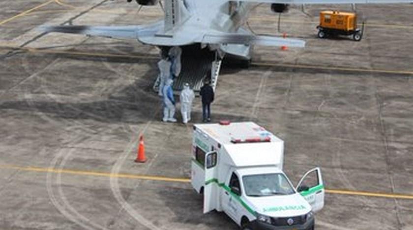Covid 19 Amazonas pacientes traslado