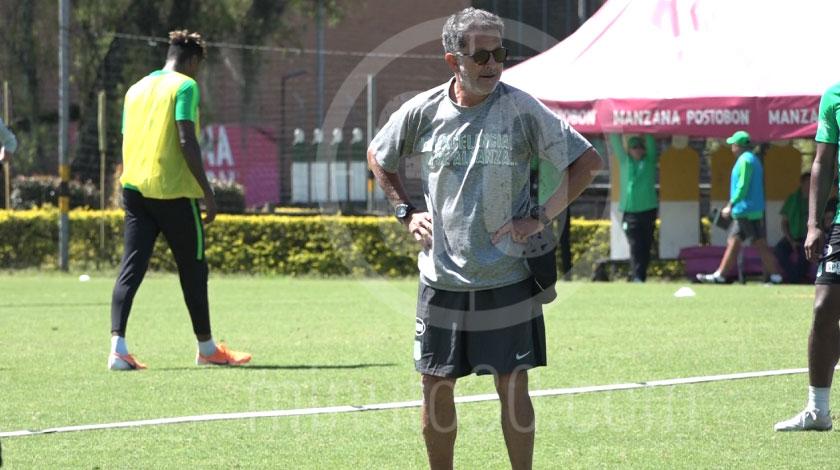 Juan Carlos Osorio, entrenador de Atlético Nacional