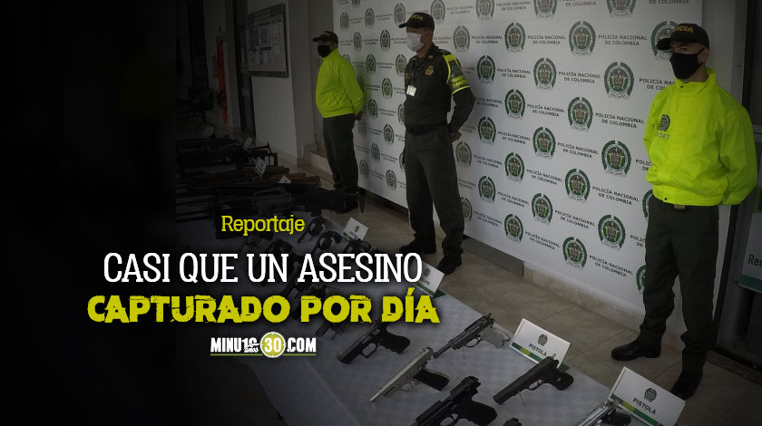EN ANTIOQUIA EN LO CORRIDO DEL MES DE MAYO SE HAN CAPTURADO 23 PERSONAS POR HOMICIDIO E INCAUTADO 53 ARMAS DE FUEGO ILEGALES