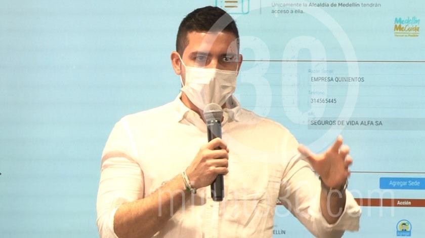 Esteban Restrepo secretario de Gobierno Alcaldia de Medellin 3
