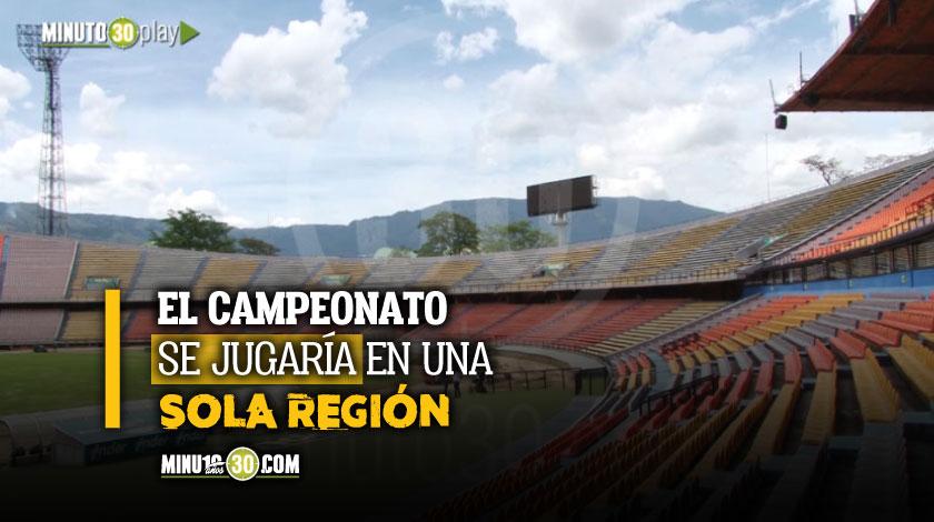 Medellin se perfila como la sede para reanudacion de la Liga colombiana
