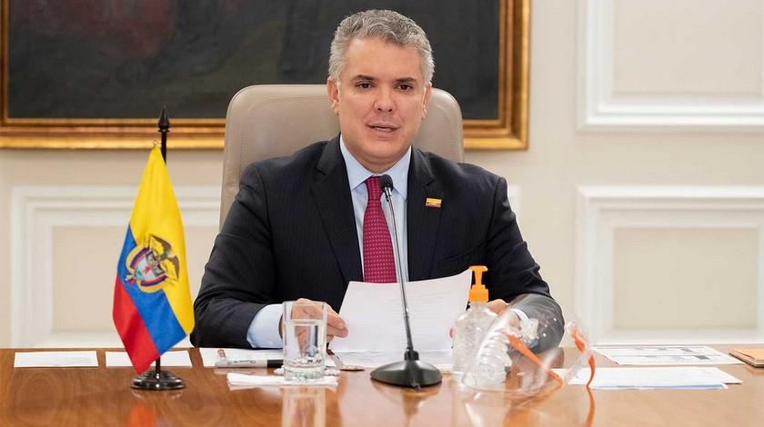 Presidente de Colombia Ivan Duque Marquez