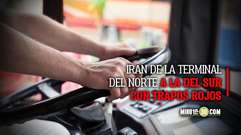 Protesta transportadores intermunicipales Medellin 27 de mayo 2020
