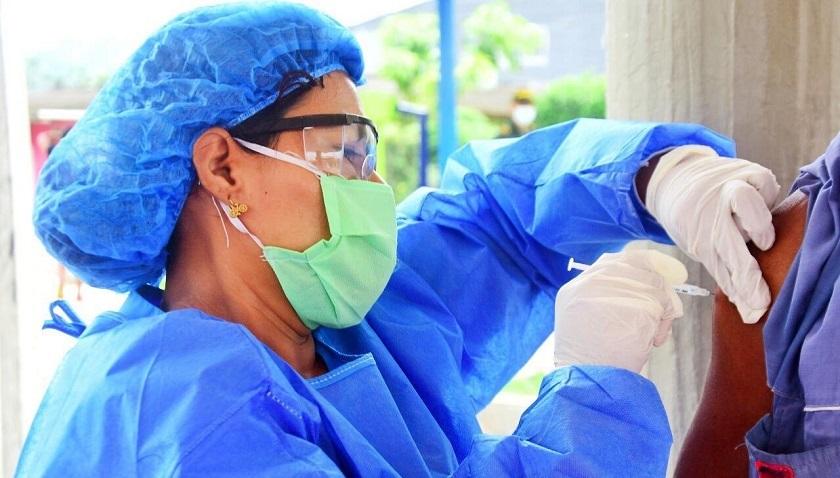 Carepa jornada de vacunación