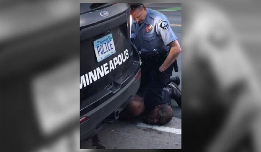 Libre policía implicado en muerte de Floyd