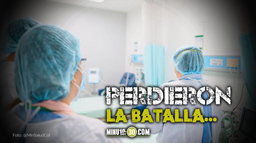 Fallecidos covid Colombia