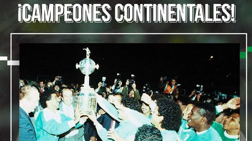Nacional campeon Copa Libertadores de 1989