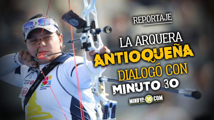 Alejandra Usquiano disfruta de la reanudacion del tiro con arco a pesar de las restricciones