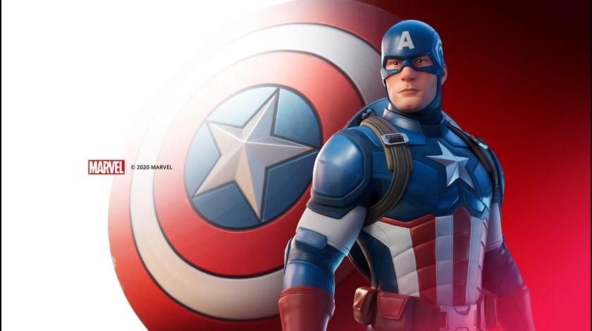 Fortnite Capitán América