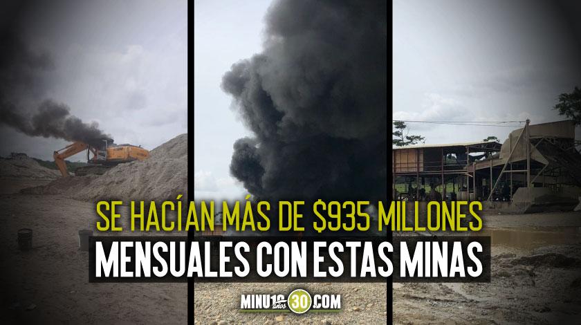 Minas ilegales Los Caparros Zaragoza