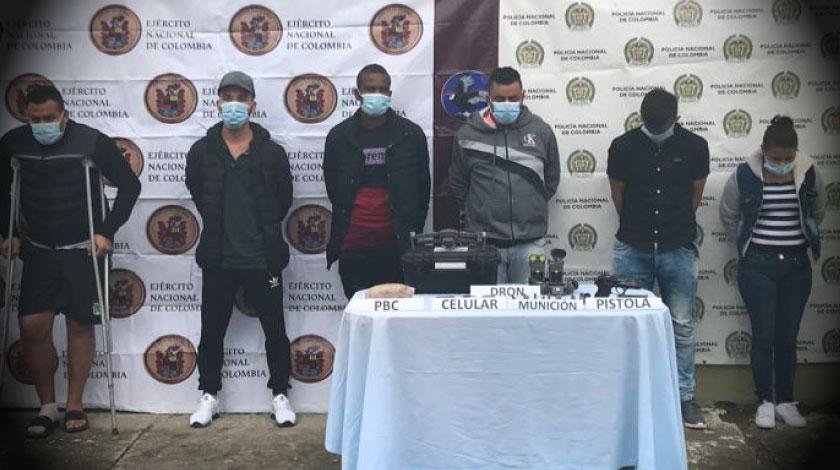 Disidentes de las Farc capturados en Antioquia