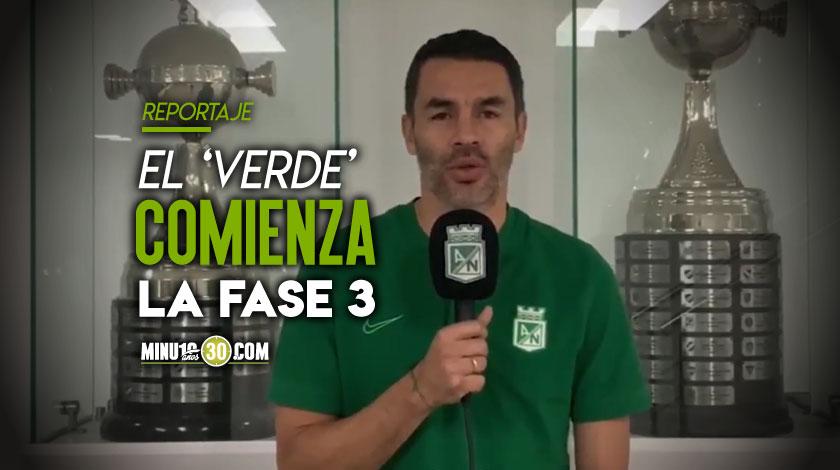 Francisco Nájera revela pormenores del regreso a practicas de Nacional