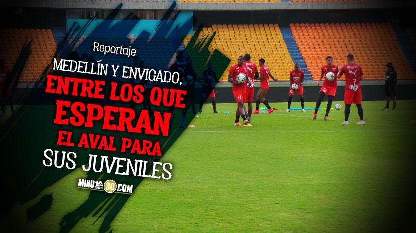 Futbolistas menores de 18 anos a la espera de autorizacion del gobierno para poder jugar con sus equipos