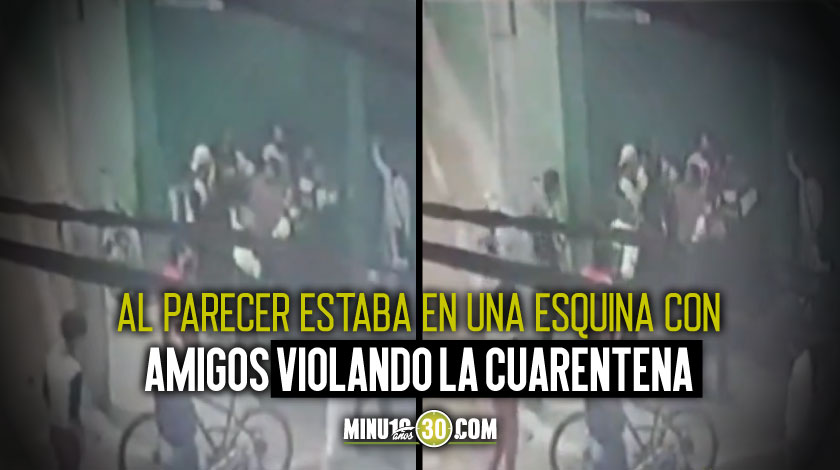 Joven Bogotá disparo