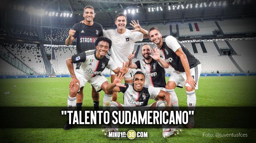 Juventus destaco el aporte de Cuadrado y los demas futbolistas de suramericana