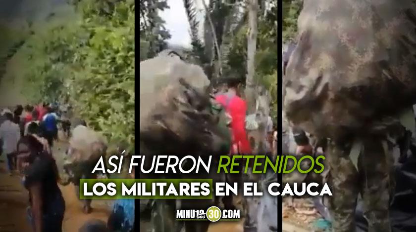 Militares Cauca