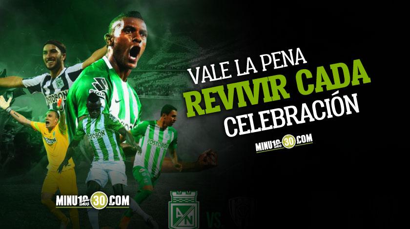 Nacional hizo un recuento de sus mejores celebraciones en la Libertadores de 2016