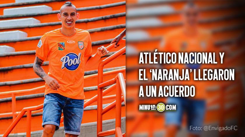 Neyder Moreno se quedara en Envigado FC