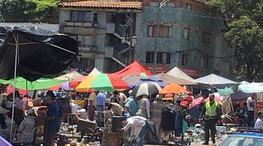 Comercio en la Comuna 10 de Medellín
