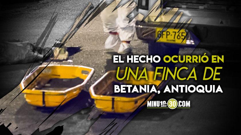 Betania doble homicidio