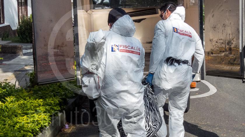 muerto crimen inspeccion tecnica escena levantamiento homicidio
