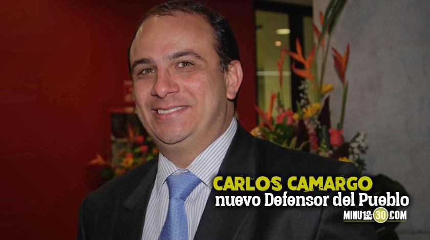 Carlos Camargo nuevo Defensor del Pueblo
