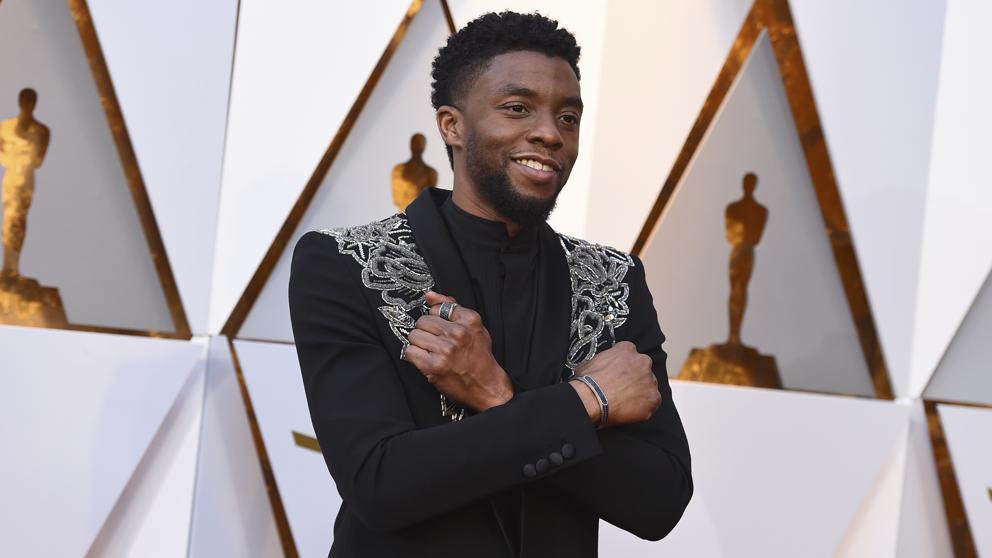 Chadwick Boseman un Black Panther