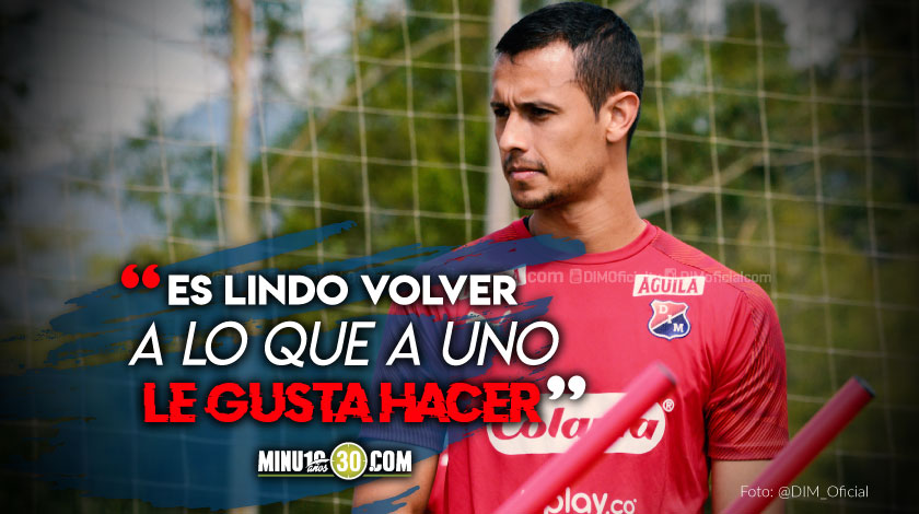Independiente Medellin en su tercera semana de entrenamientos individuales