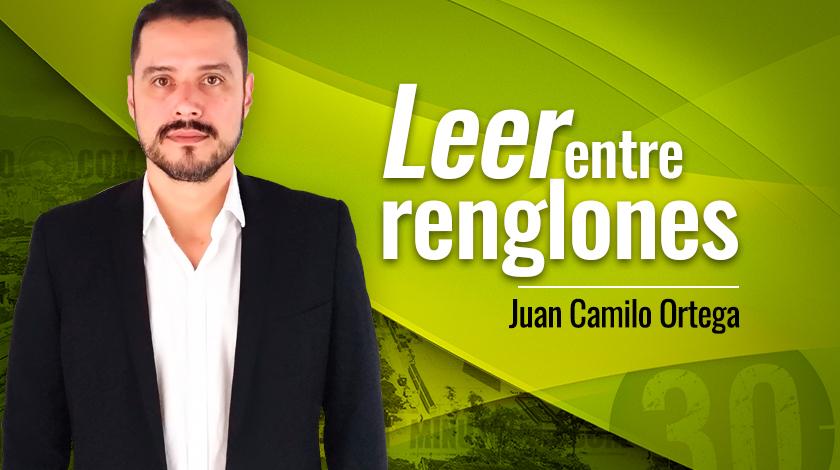Juan Camilo Ortega Leer entre renglones