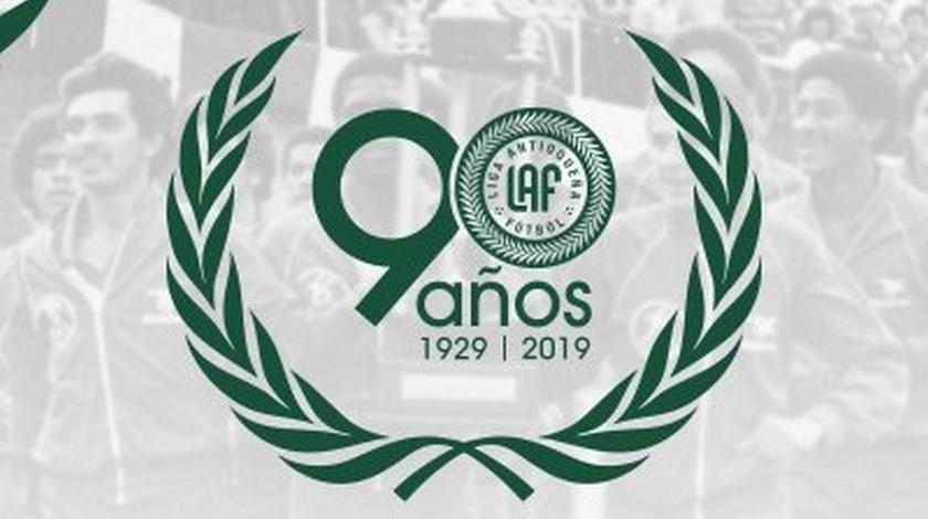 Logo Liga Antioquenaa de Futbol