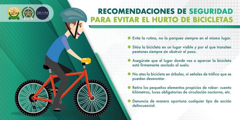 Policia Uraba contra el hurto de bicicletas noticias 2