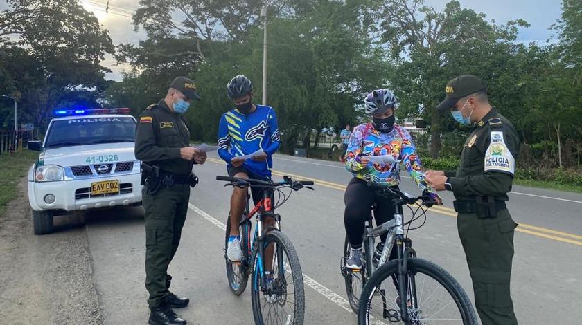 Policia Uraba contra el hurto de bicicletas noticias