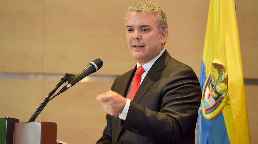 Presidente Ivan Duque Marquez 12345