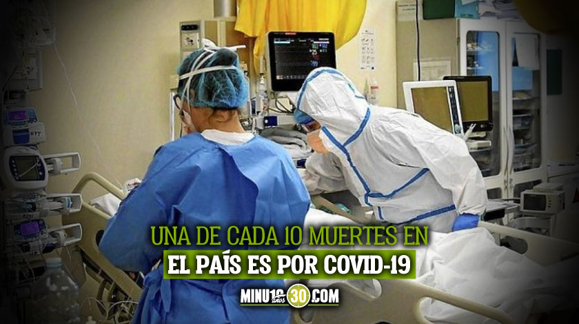 Tremendas cifras Por cada tres muertos por covid 19 en Colombia hay uno que es sospechoso