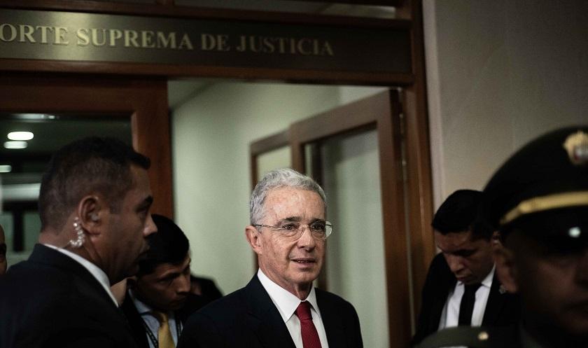 Álvaro Uribe solicita a corte que entregue su caso a Fiscalía