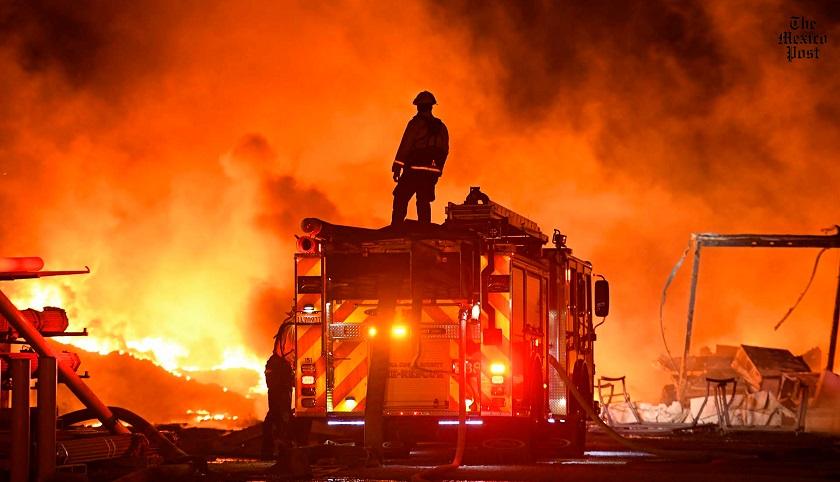 California declara emergencia por incendios