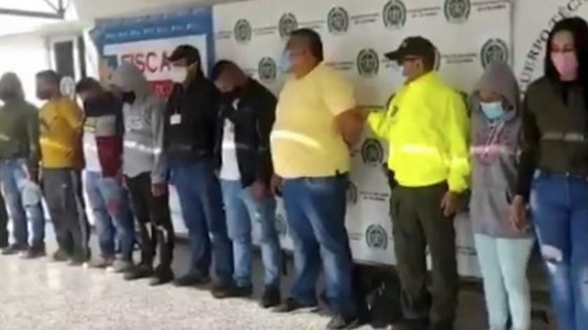 Capturados 8 presuntos integrantes de 'Los Prestamistas'