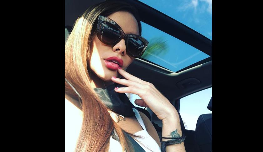 Luana Pinto, la modelo que habría burlado las reglas de Instagram y se mostró teniendo relaciones