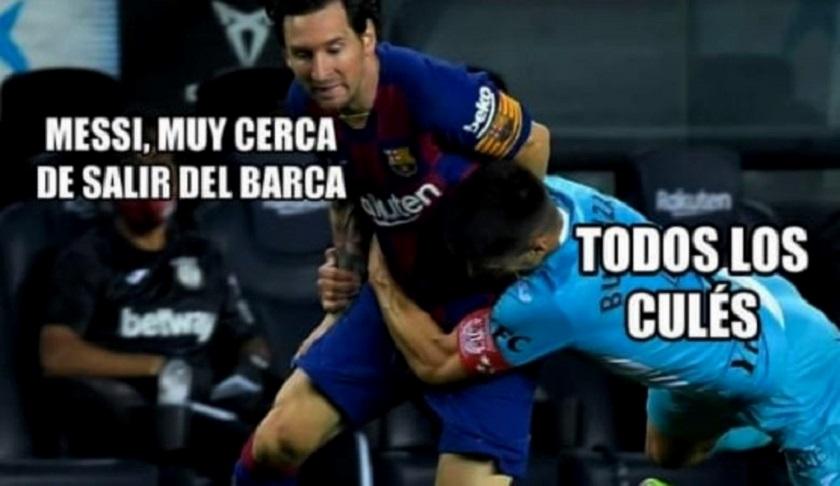 Internet explota con Messi y la 'carta de renuncia' al Barcelona: MEJORES MEMES AQUÍ