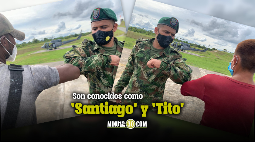 son conocidos como Santiago y Tito