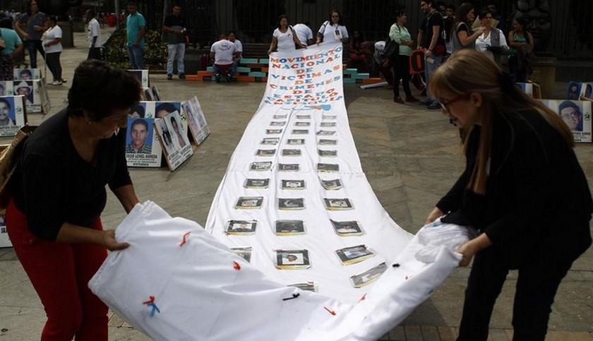 víctimas de desaparición forzada EFE ilustrativa noticias