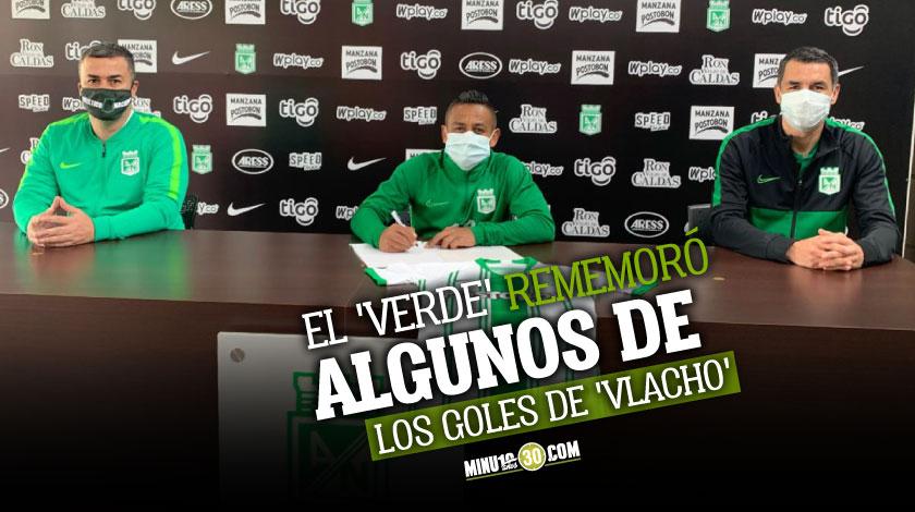 Atletico Nacional extendio contrato de Vladimir Hernandez
