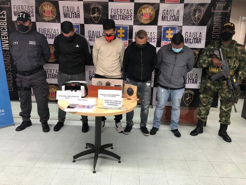 Caen 4 en Villa Hermosa integrantes de banda que roba entidades bancarias Valle de Aburra
