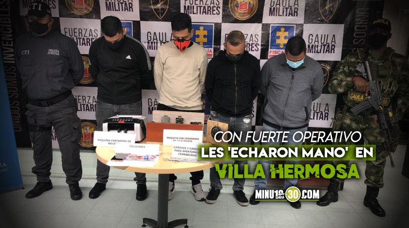Caen 4 en Villa Hermosa integrantes de banda que roba entidades bancarias Valle de Aburra1