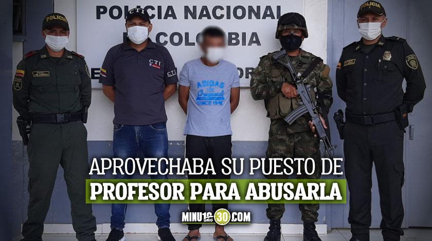 Capturado profesor por abuso sexual de una menor de edad en el Amazonas