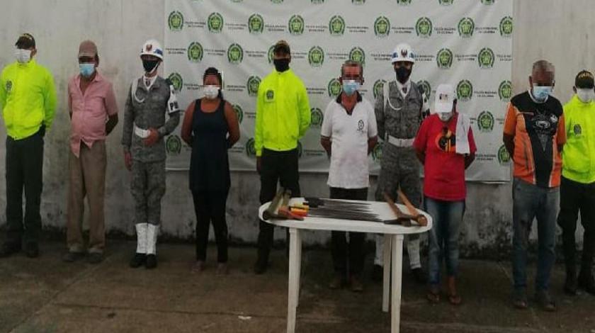 Capturados danando los recursos del Amazonas noticias